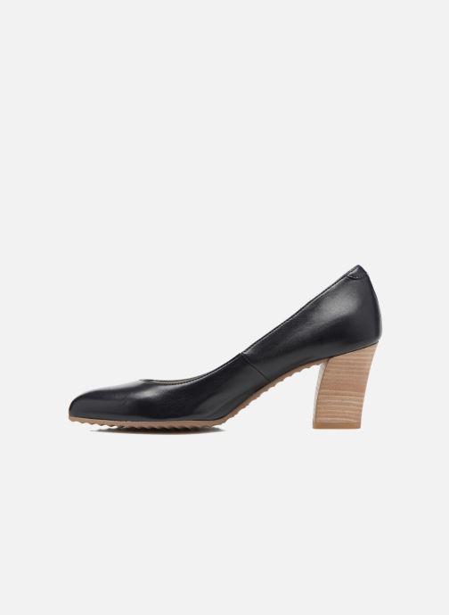 High heels Perlato Pampelune Blue front view