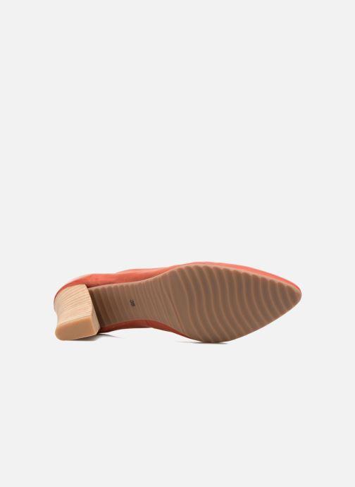 Zapatos de tacón Perlato Pampelune Rojo vista de arriba