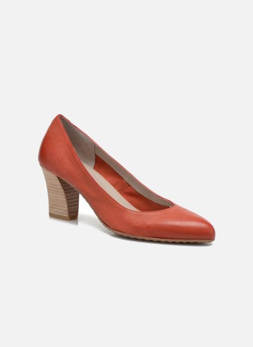 High heels Perlato Pampelune Red detailed view/ Pair view