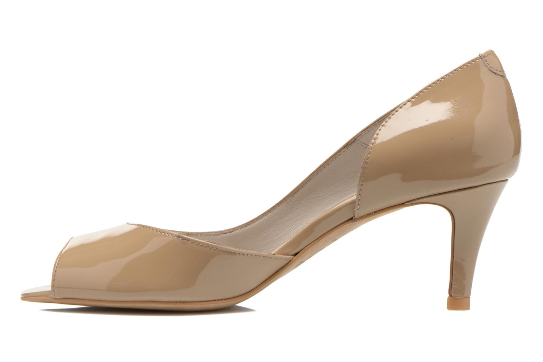 High heels Perlato Bilbao Beige front view