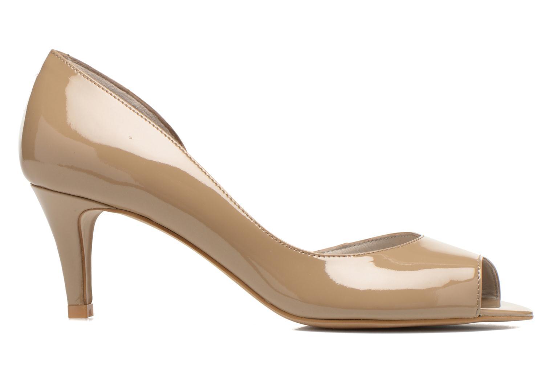 High heels Perlato Bilbao Beige back view