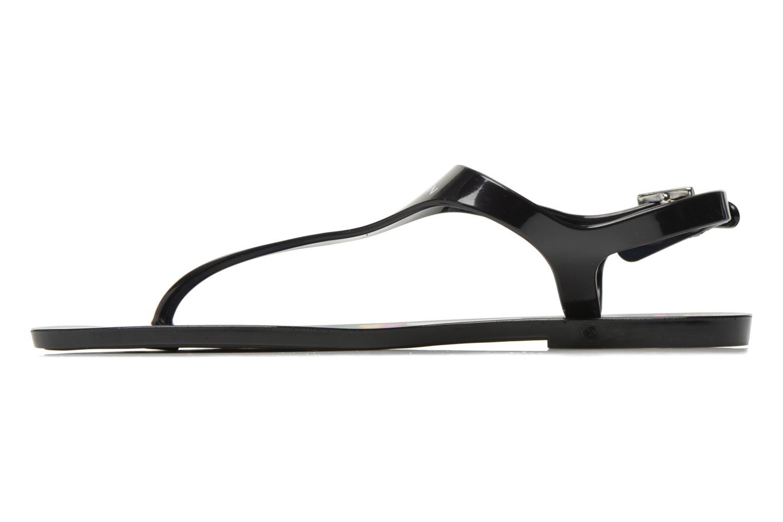 Sandales et nu-pieds Carven Manta Noir vue face