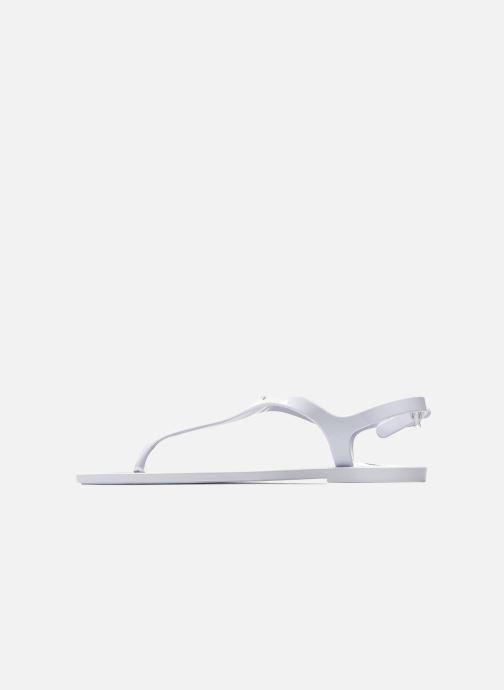 Sandales et nu-pieds Carven Loja Blanc vue face