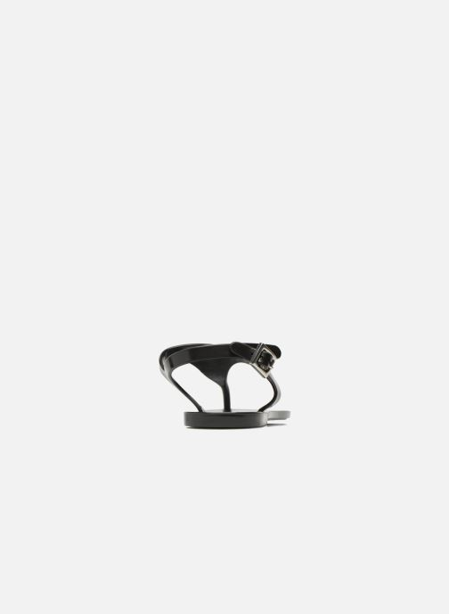 Flip flops Carven Zamora Black view from the right