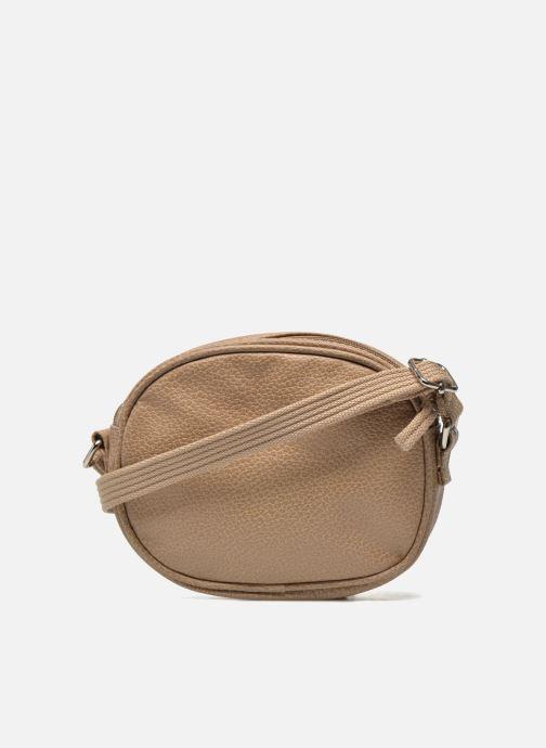 Handbags Paquetage Micro Sac Grainé Beige front view