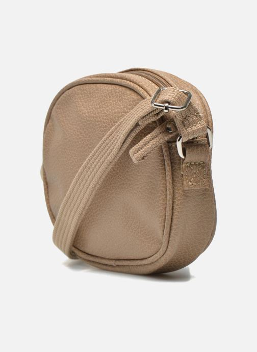 Handbags Paquetage Micro Sac Grainé Beige view from the right