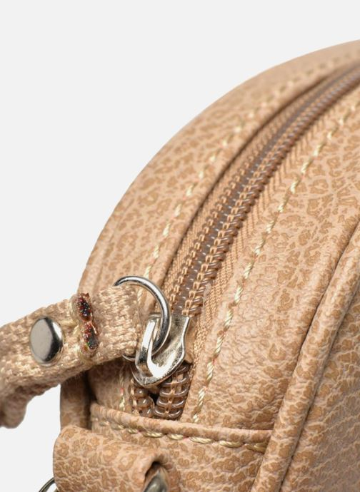 Handbags Paquetage Micro Sac Grainé Beige view from the left