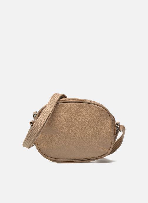 Handbags Paquetage Micro Sac Grainé Beige detailed view/ Pair view
