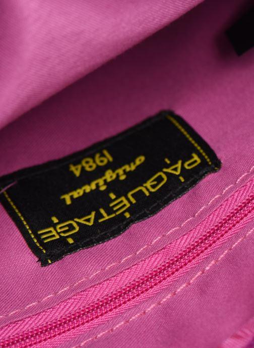 Borse Paquetage Micro Sac Grainé Rosa immagine posteriore