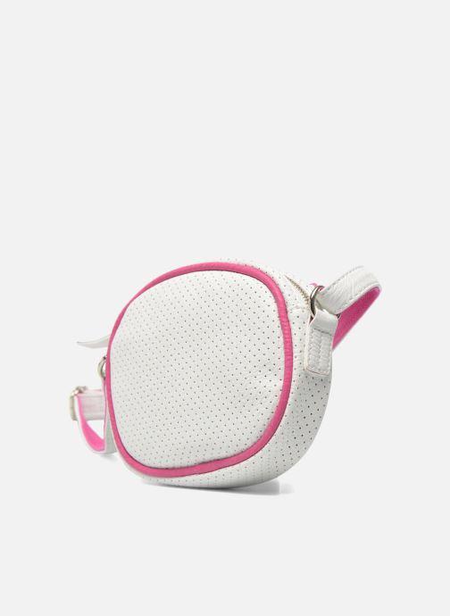 Handbags Paquetage Micro Sac Perforé White model view