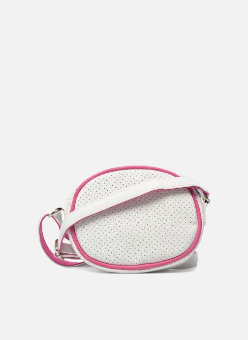 Handtassen Paquetage Micro Sac Perforé Wit voorkant