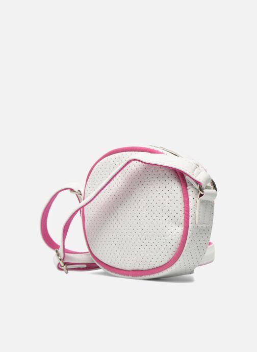 Handtaschen Paquetage Micro Sac Perforé weiß ansicht von rechts