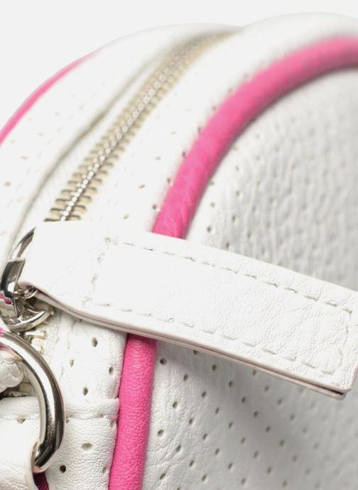 Handtaschen Paquetage Micro Sac Perforé weiß ansicht von links