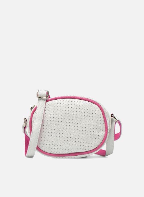 Handbags Paquetage Micro Sac Perforé White detailed view/ Pair view