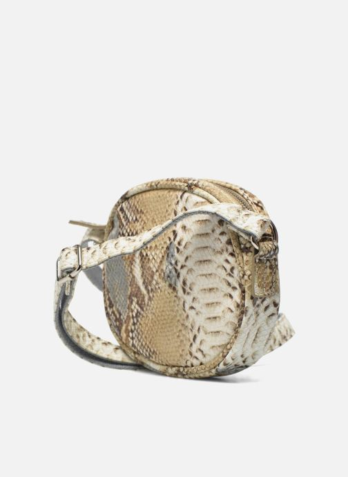 Handbags Paquetage Micro Sac Serpent Beige view from the right