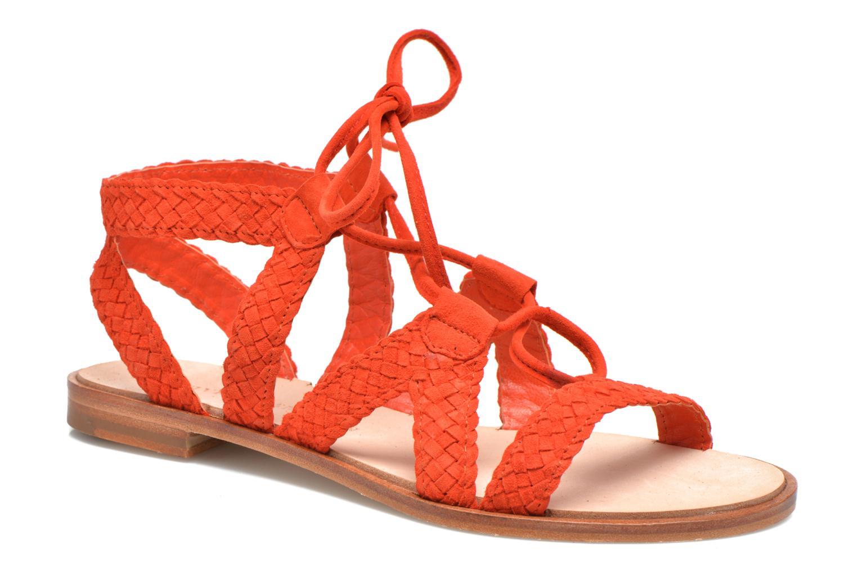 Sandales et nu-pieds Melvin   Hamilton Sandra 11 Orange vue détail paire 901cbbadbafb