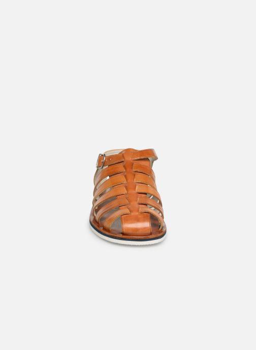 Sandales et nu-pieds Melvin & Hamilton Sam 3 Marron vue portées chaussures