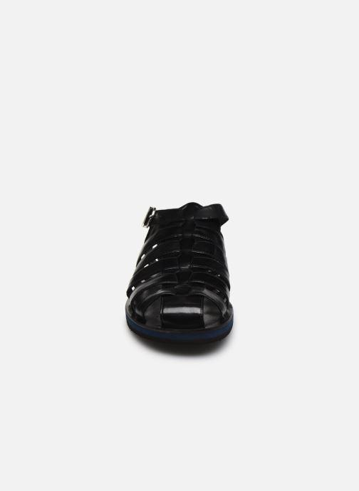 Sandales et nu-pieds Melvin & Hamilton Sam 3 Noir vue portées chaussures
