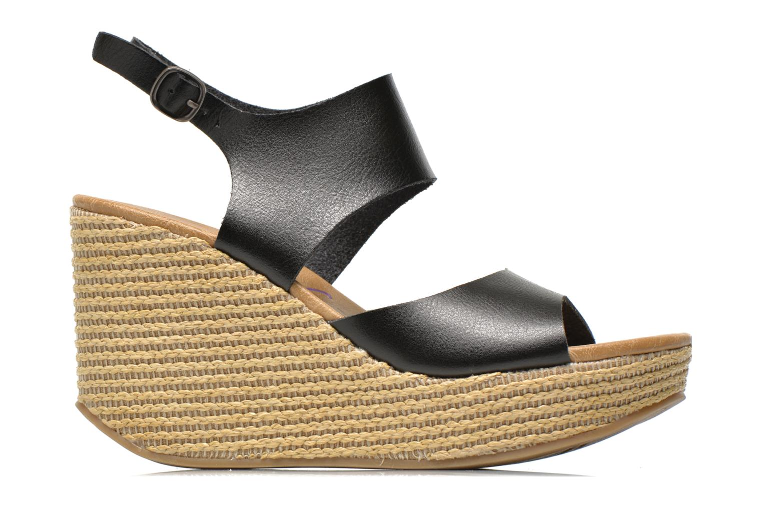 Sandalias Blowfish District Negro vistra trasera