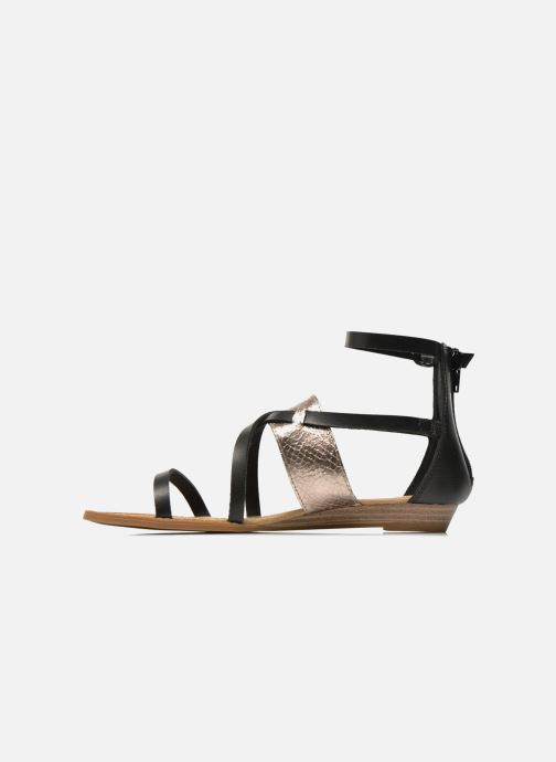 Sandalias Blowfish Badot Negro vista de frente