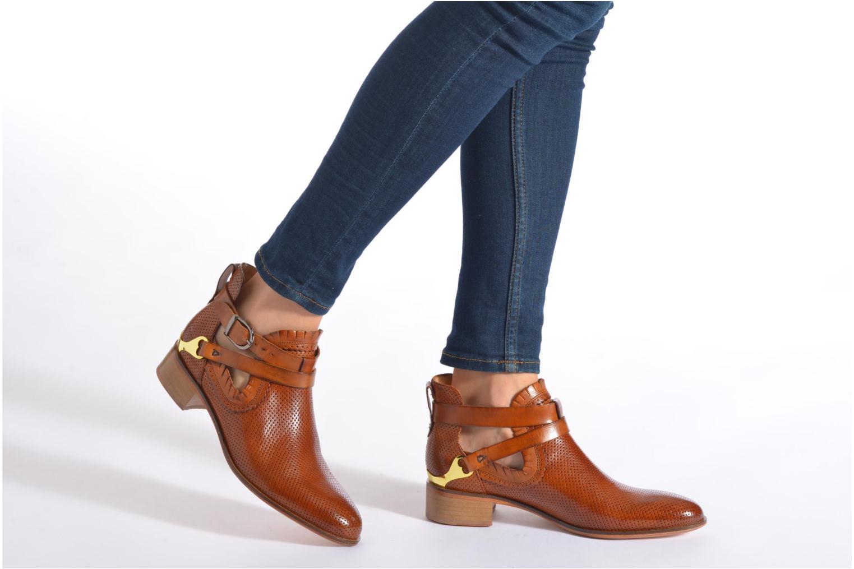 Bottines et boots Melvin & Hamilton Alina 1 Gris vue bas / vue portée sac