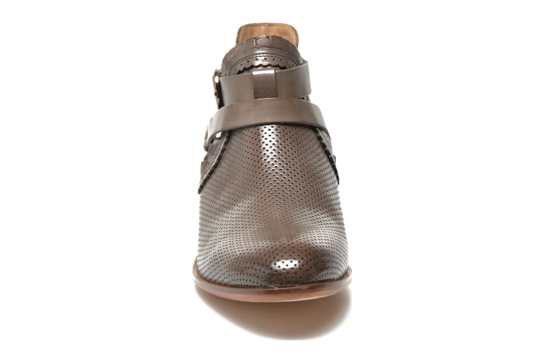 Bottines et boots Melvin & Hamilton Alina 1 Gris vue portées chaussures