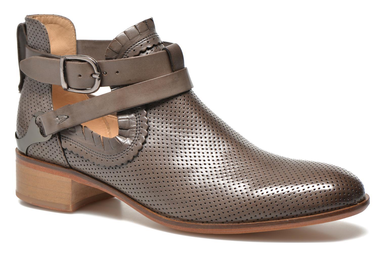 Bottines et boots Melvin & Hamilton Alina 1 Gris vue détail/paire