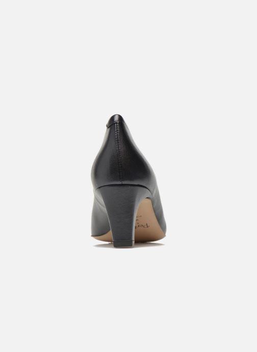 Zapatos de tacón Perlato Lailana Azul vista lateral derecha