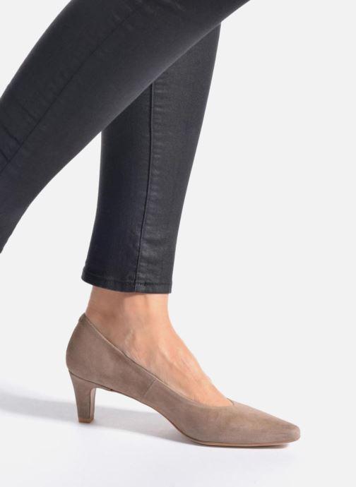 Zapatos de tacón Perlato Lailana Blanco vista de abajo
