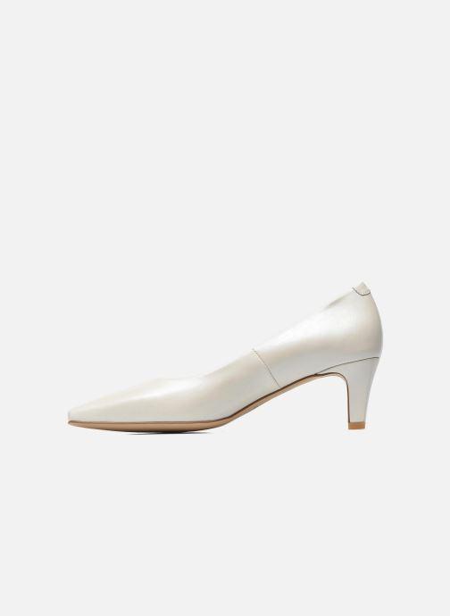 Zapatos de tacón Perlato Lailana Blanco vista de frente