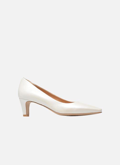 Zapatos de tacón Perlato Lailana Blanco vistra trasera