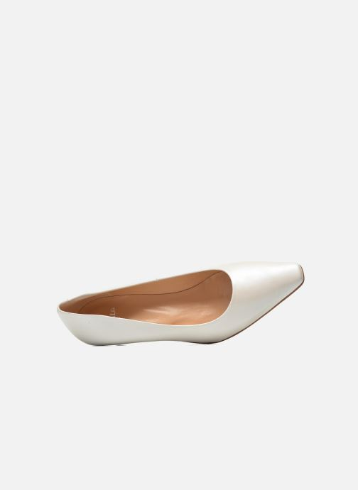 High heels Perlato Lailana White view from the left