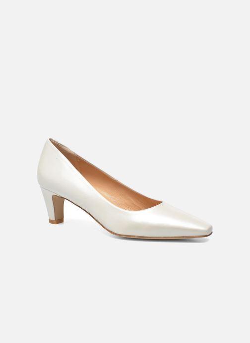High heels Perlato Lailana White detailed view/ Pair view
