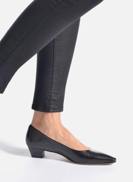 Zapatos de tacón Perlato Andreana Azul vista de abajo
