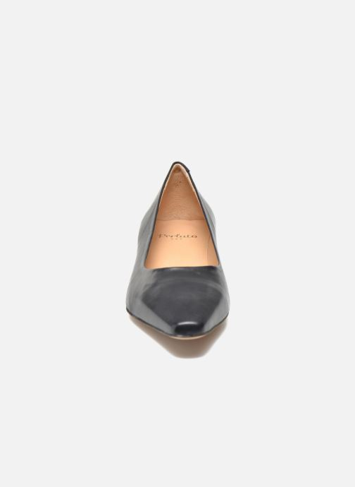 High heels Perlato Andreana Blue model view