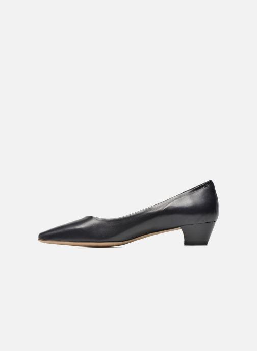 High heels Perlato Andreana Blue front view
