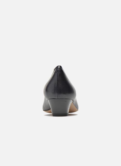 Zapatos de tacón Perlato Andreana Azul vista lateral derecha