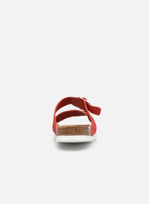 Mules et sabots Vero Moda Julia Leather Sandal Rouge vue droite
