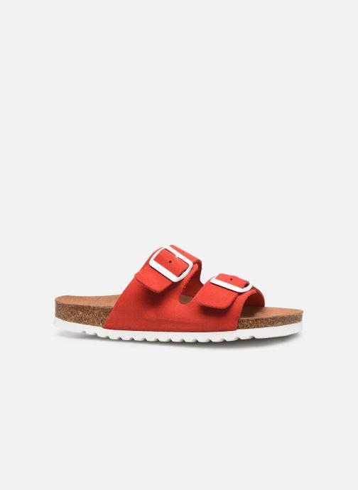 Mules et sabots Vero Moda Julia Leather Sandal Rouge vue derrière