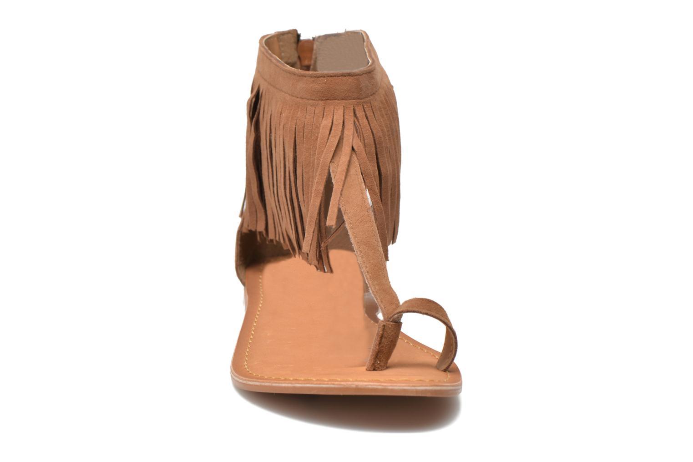 Sandales et nu-pieds Vero Moda VmKate Marron vue portées chaussures