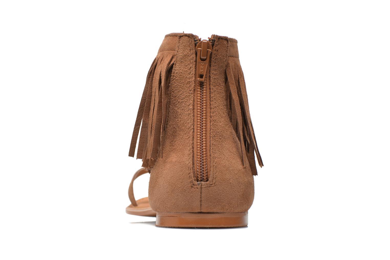 Sandales et nu-pieds Vero Moda VmKate Marron vue droite