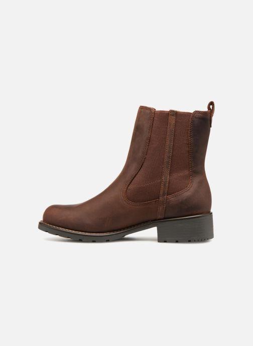 Stiefeletten & Boots Clarks Orinoco Hot braun ansicht von vorne