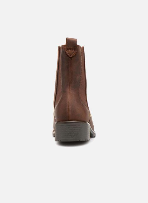 Stiefeletten & Boots Clarks Orinoco Hot braun ansicht von rechts
