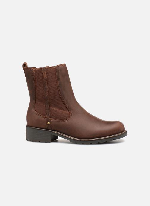 Boots en enkellaarsjes Clarks Orinoco Hot Bruin achterkant