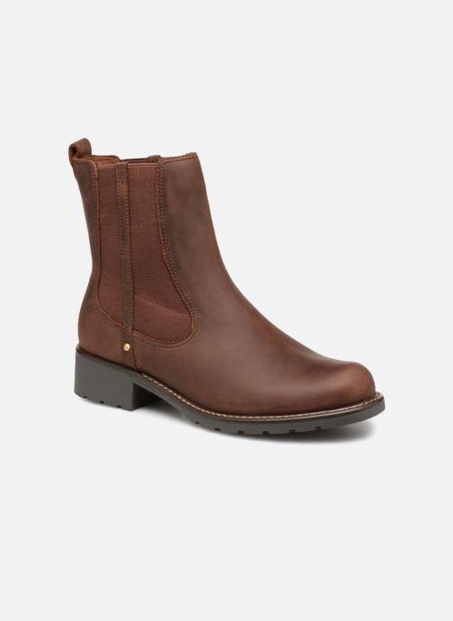 Boots en enkellaarsjes Clarks Orinoco Hot Bruin detail