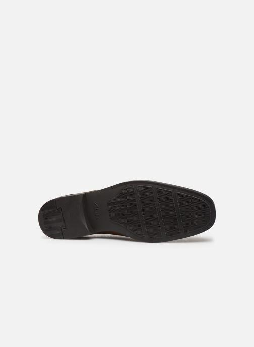 Zapatos con cordones Clarks Tilden Plain Marrón vista de arriba