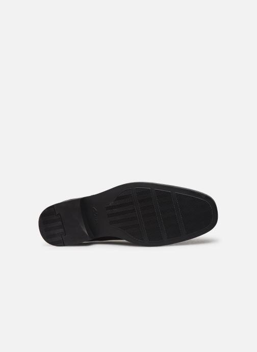 Chaussures à lacets Clarks Tilden Plain Noir vue haut