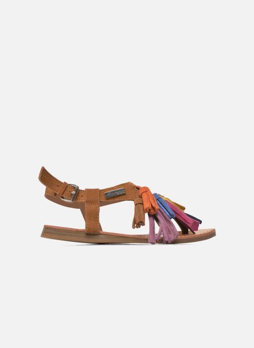 Sandales et nu-pieds Les Tropéziennes par M Belarbi Gorby E Marron vue derrière