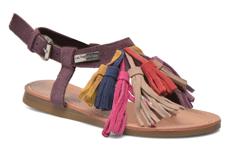 Sandals Les Tropéziennes par M Belarbi Gorby E Purple detailed view/ Pair view