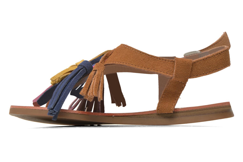 Sandals Les Tropéziennes par M Belarbi Gorby E Brown front view